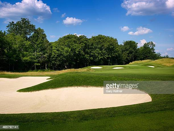 A view of the 14th hole at the future site of the 96th PGA Championship at Valhalla Golf Club on October 31 2013 in Louisville Kentucky