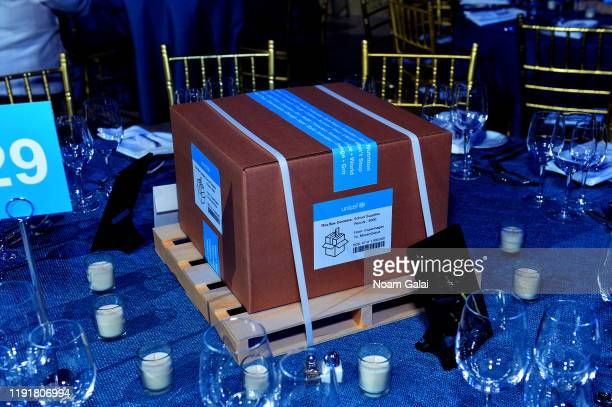A view of the 15th Annual UNICEF Snowflake Ball 2019 at 60 Wall Street Atrium on December 03 2019 in New York City