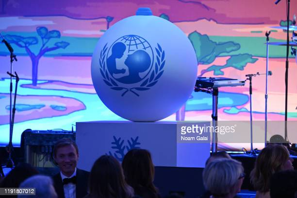 A view of the 15th Annual UNICEF Snowflake Ball 2019 at Cipriani Wall Street on December 03 2019 in New York City