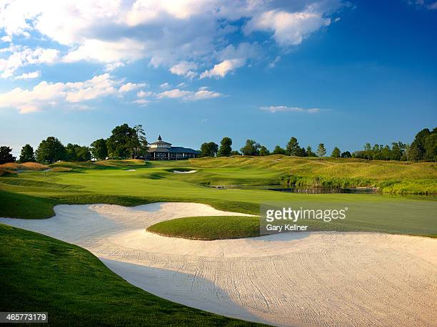 A view of the 18th hole at the future site of the 96th PGA Championship at Valhalla Golf Club on October 31 2013 in Louisville Kentucky