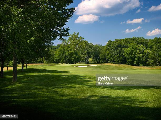 A view of the 1st hole at the future site of the 96th PGA Championship at Valhalla Golf Club on October 31 2013 in Louisville Kentucky