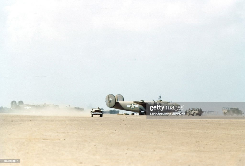 U.S AIR FORCE IN  BENGHAZI LIBYA : News Photo