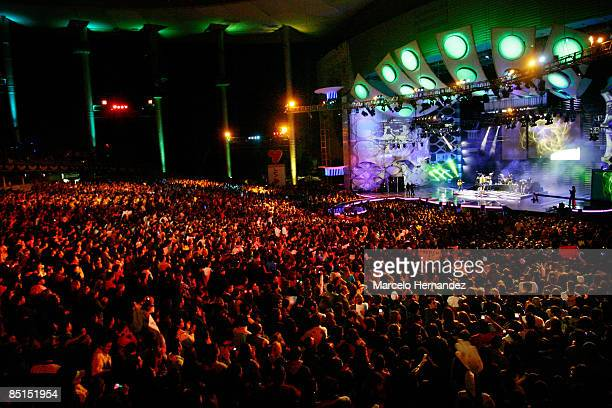 A view of the 50th Vina Del Mar song festival on February 27 2009 in Vina Del Mar Chile