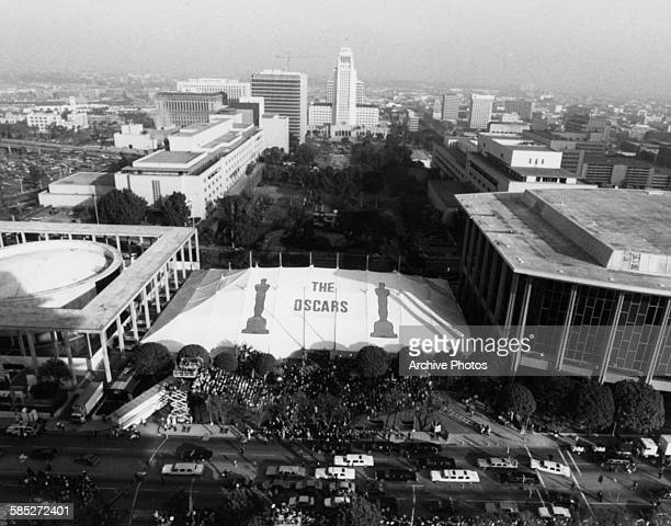 A view of the 61st Academy Awards at the Shrine Auditorium Los Angeles March 29th 1989