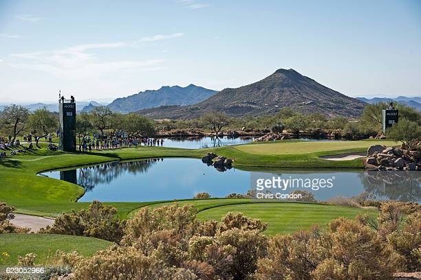 view of the 7th hole during the final round of the PGA TOUR Champions Charles Schwab Cup Championship at Desert Mountain Club on November 13 2016 in...