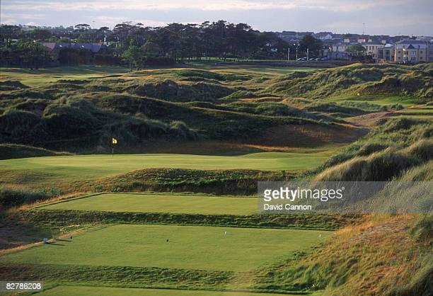 A view of the 9th hole par 3 at Portmarnock Golf Links County Dublin Ireland July 1995 The course was designed by German golfer Bernhard Langer