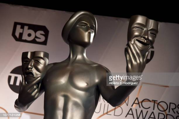 A view of The Actor during the 25th Annual Screen Actors Guild Awards Nominations Announcement at Pacific Design Center on December 12 2018 in West...