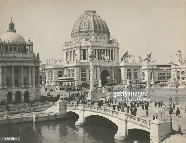 View of the Administration Building at the World's Columbian Exposition Chicago Illinois 1893