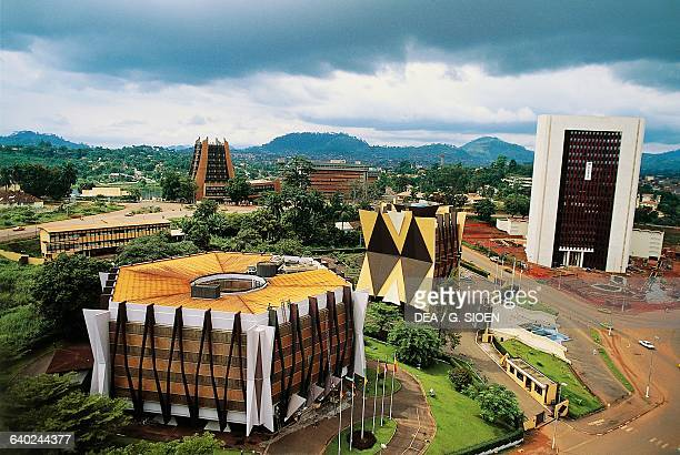 View of the Administrative Centre, Yaounde, Cameroon.