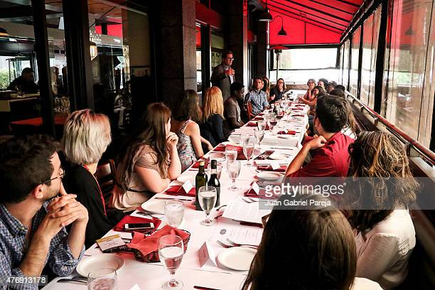 View of the AFS Luncheon during the 2015 Los Angeles Film Festival at Casa Nostra on June 11, 2015 in Los Angeles, California.