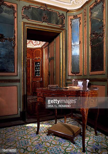 View of the Alcove Room Palazzo Biscari Catania Sicily Italy 18th century