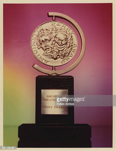 View of the American Theatre Wing Tony Award.