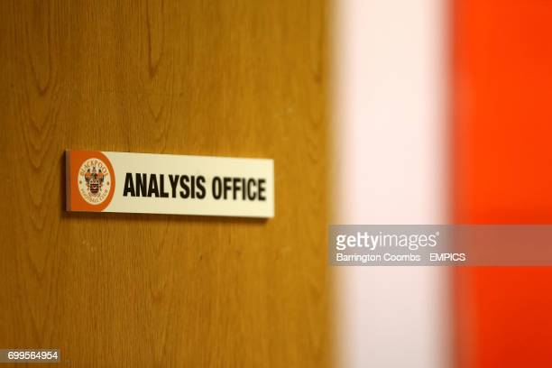 A view of the Analysis Office at Bloomfield Road