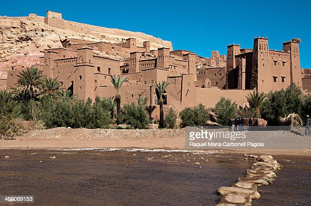 View of the ancient kasbah Unesco World Heritage Site