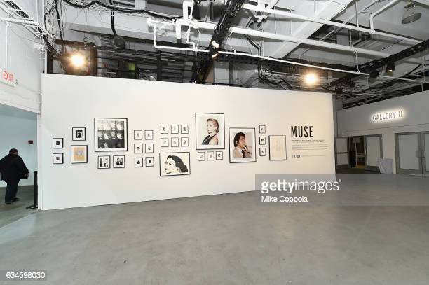 A view of the Andy Warhol Exhibition seen around the New York Fashion Week The Shows Day 2 on February 10 2017 in New York City