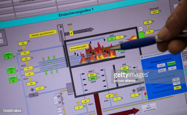 View of the animal crematorium 'Tiertrauer' in Munich, Gemrany, 24 May 2016. Roughly 10,000 animals are cremated at the crematorium Tiertrauer each...