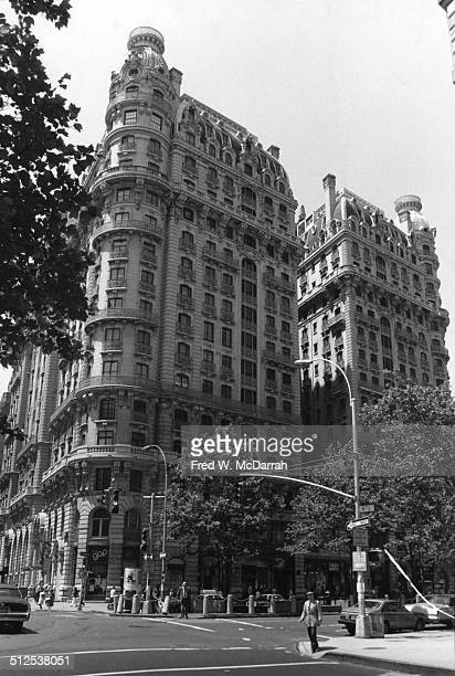 View of the Ansonia New York New York 1970s