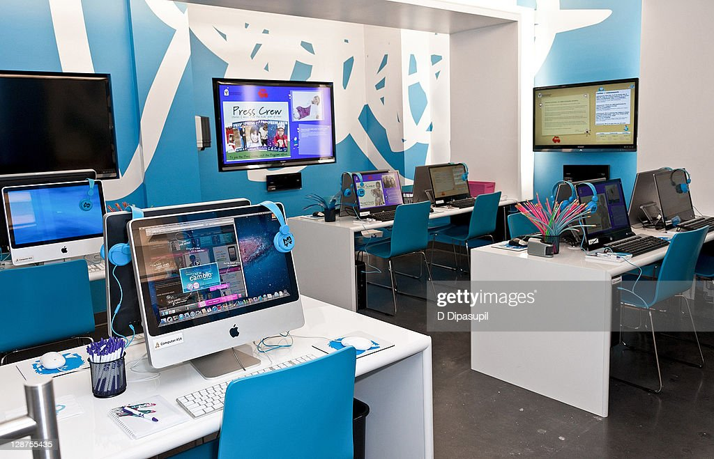 A view of the AOL Media Room at the Ronald McDonald House on October 7, 2011 in New York City.