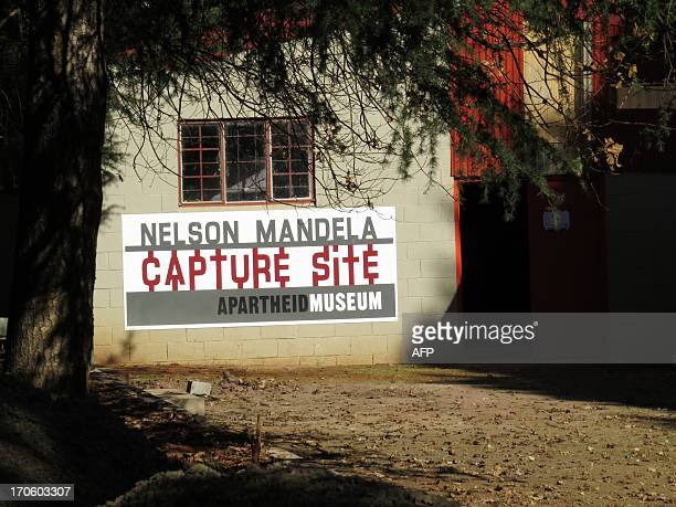 A view of the Apartheid Museum near the 'capture site' of former South African President Nelson Mandela in Howick approximately 150 kilometers west...