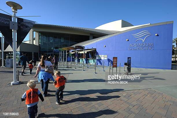 A view of the Aquarium of the Pacific in Long Beach California on January 19 2011 The Aquarium which features a collection of over 11000 animals...