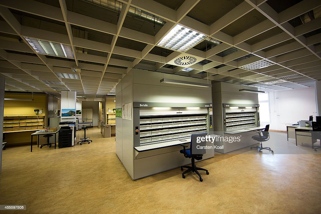 A view of the archives of the former East German secret police, known as the Stasi on September 17, 2014 in Berlin, Germany. The Stasi, whose official function was to protect the East German communist party, pursued an extremely aggressive campaign of spying on East German citizens in order to confine and root out dissent. The archive contains information gathered by the Stasi on millions of people. This November Germany will commemorate the 25th anniversary of the fall of the Berlin Wall which led to the demise of communist East Germany.