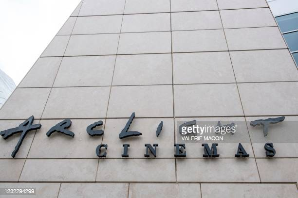 View of the Arclight Hollywood Theater on April 13 in Los Angeles, California. - Pacific Theaters, operator of some 300 screens in California,...