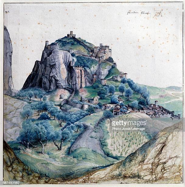 View of the Arco Valley Watercolour by Albrecht Durer 1495 Louvre Museum Paris France