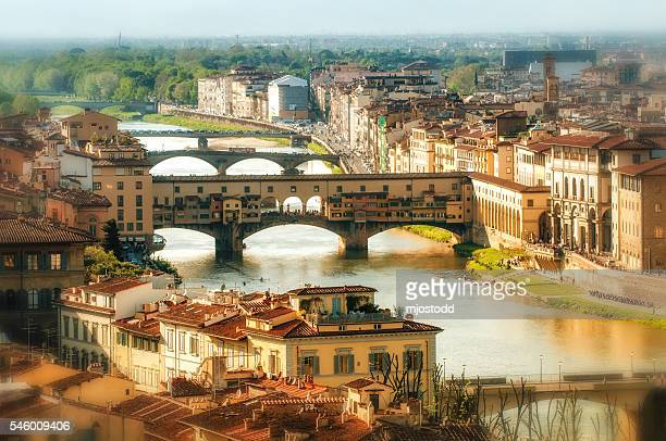 View of the Arno, Florence Italy
