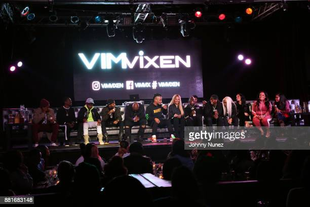 A view of the atmosphere at Angela Yee's Lip Service With TI at Highline Ballroom on November 28 2017 in New York City