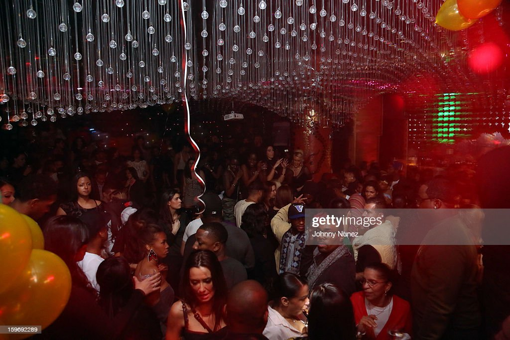 A view of the atmosphere at Barry Mullineaux's Birthday Party at Greenhouse on January 17, 2013 in New York City.