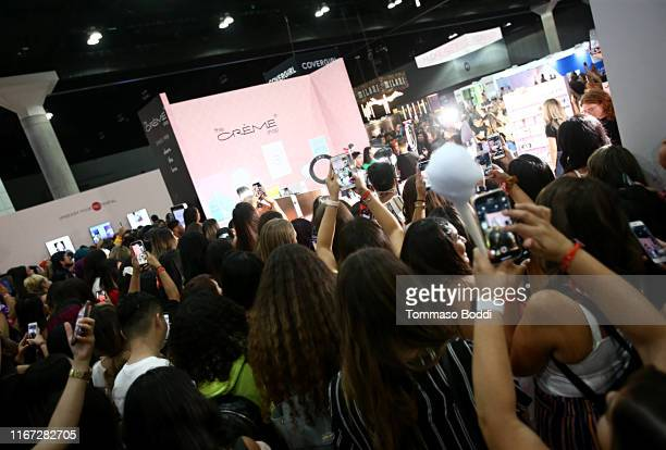 A view of the atmosphere at Beautycon Festival Los Angeles 2019 at Los Angeles Convention Center on August 10 2019 in Los Angeles California