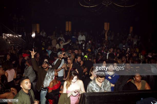A view of the atmosphere at Church On Sundays Hosted By Nicki Minaj And Phil The Mayor And DJ Clues Birthday Party at The Argyle on February 8 2019...