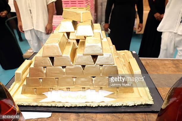 A view of the atmosphere at Fabolous' A Night In FABU DHABI Birthday Celebration on November 18 2016 in New York City