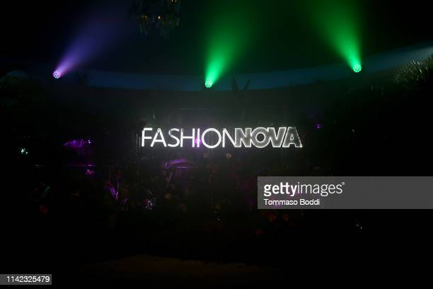A view of the atmosphere at Fashion Nova Presents Party With Cardi at Hollywood Palladium on May 8 2019 in Los Angeles California