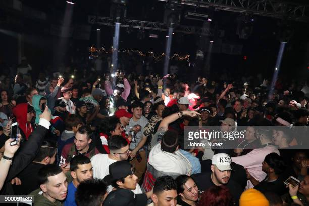A view of the atmosphere at FREQ NYC on December 30 2017 in New York City