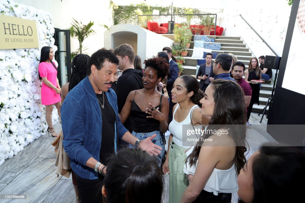 International Superstar Lionel Richie Celebrates His Premiere Fragrance Line, HELLO By Lionel Richie, In LA, Inspired By His Passion For Love And Music : News Photo