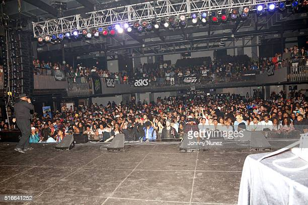 A view of the atmosphere at SXSW Takeover 2016 at the SXSW Music Festival on March 19 2016 in Austin Texas