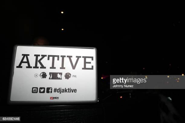 A view of the atmosphere at the Annual PreGrammy Reception hosted by Ted Reid at STK on February 9 2017 in Los Angeles California