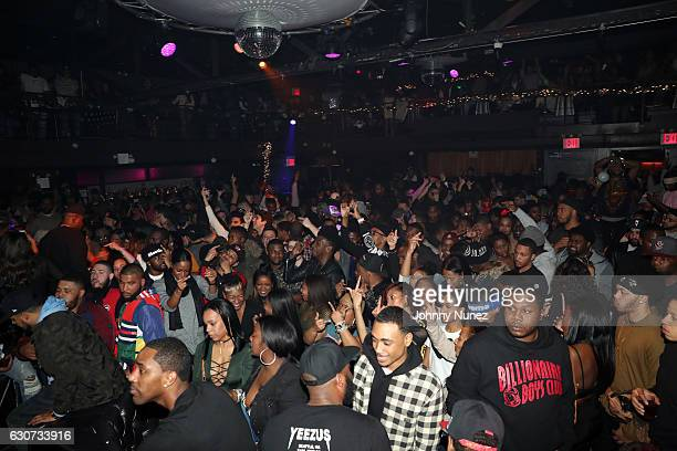 A view of the atmosphere at the New Year's Eve Preparty With Meek Mill on December 30 2016 in New York City