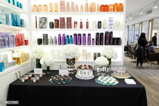 A view of the atmosphere at the Roman K Salon Madison Avenue Opening on November 21 2019 in New York City