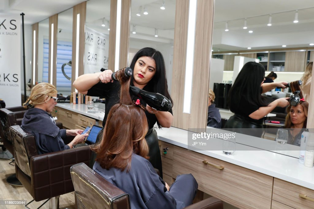 Roman K Salon Madison Avenue Opening : News Photo