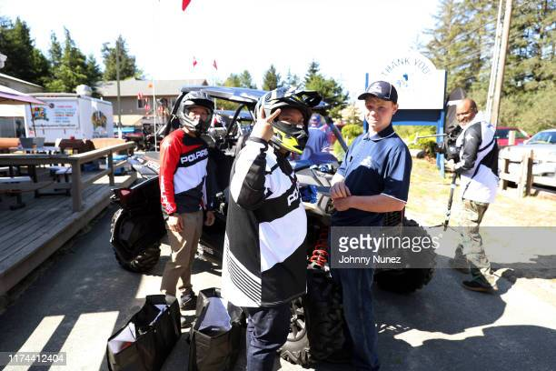 View of the atmosphere at the Star-studded Adventure Ride hosted by Polaris Slingshot And RZR on September 12, 2019 in Tenmile, Oregon.