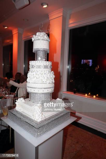 A view of the atmosphere at the Treach Cicely Evans Wedding at Waterside Reception Hall on September 08 2019 in North Bergen New Jersey