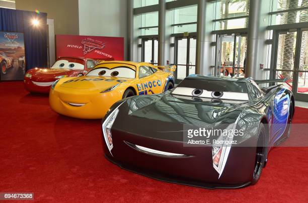 "A view of the atmosphere at the World Premiere of Disney/Pixar's ""Cars 3' at the Anaheim Convention Center on June 10 2017 in Anaheim California"