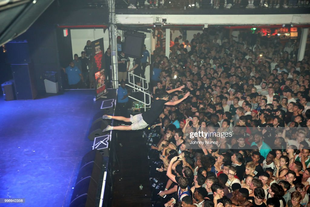 A view of the atmosphere at the XXL Freshman Class 2018 concert at Terminal 5 on July 11, 2018 in New York City.