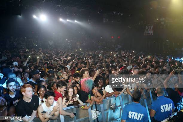A view of the atmosphere at the XXL Freshman Class 2019 Concert at PlayStation Theater on July 22 2019 in New York City