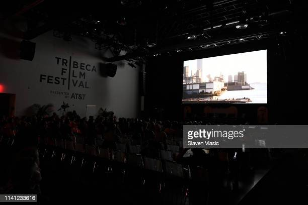 View of the atmosphere at Tribeca Celebrates Pride Day at 2019 Tribeca Film Festival at Spring Studio on May 4, 2019 in New York City.