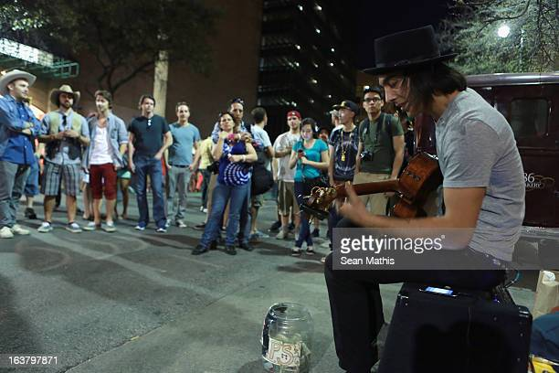 A view of the atmosphere during the 2013 SXSW Music Film Interactive Festival on March 15 2013 in Austin Texas