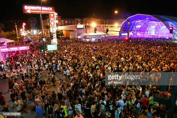 View of the atmosphere during the 2018 Life Is Beautiful Festival on September 22 2018 in Las Vegas Nevada