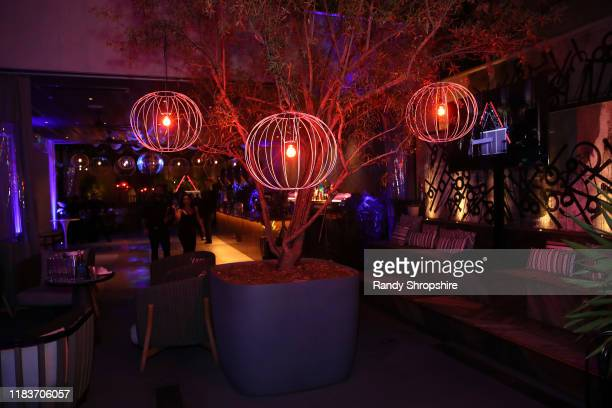 View of the atmosphere during the 7th Annual UNICEF Masquerade Ball 2019 at Kimpton La Peer Hotel on October 26 2019 in West Hollywood California